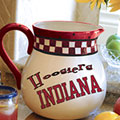 "Indiana Hoosiers NCAA College 14"" Gameday Ceramic Chip and Dip Platter"