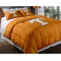 "Tennessee Volunteers College Twin Chenille Embroidered Comforter Set with 2 Shams 64"" x 86"""