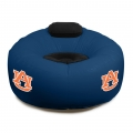 Auburn Tigers NCAA College Vinyl Inflatable Chair w/ faux suede cushions