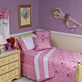 Dance On 5 Piece Full Bedding Set - Pink