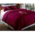 "Arizona State Sun Devils College Twin Chenille Embroidered Comforter Set with 2 Shams 64"" x 86"""