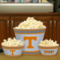 Tennessee Vols NCAA College Melamine 3 Bowl Serving Set