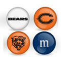 Chicago Bears Custom Printed NFL M&M's With Team Logo