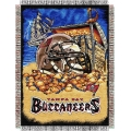 "Tampa Bay Buccaneers NFL ""Home Field Advantage"" 48"" x 60"" Tapestry Throw"