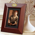 "Georgia Tech Yellowjackets NCAA College 10"" x 8"" Brown Vertical Picture Frame"