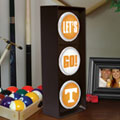 Tennessee Vols NCAA College Stop Light Table Lamp