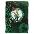 "Boston Celtics   NBA ""Tie Dye"" 60"" x 80"" Super Plush Throw"