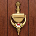 Cincinnati Reds MLB Brass Door Knocker