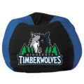 "Minnesota Timberwolves NBA 102"" Cotton Duck Bean Bag"