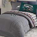 Philadelphia Eagles NFL Team Denim Queen Comforter / Sheet Set