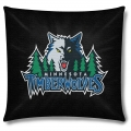 "Minnesota Timberwolves NBA 18"" x 18"" Cotton Duck Toss Pillow"