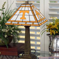 Tennessee Vols NCAA College Stained Glass Mission Style Table Lamp