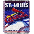 "St. Louis Cardinals MLB 48""x 60"" Triple Woven Jacquard Throw"