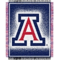 "Arizona Wildcats NCAA College ""Focus"" 48"" x 60"" Triple Woven Jacquard Throw"