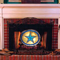 Dallas Cowboys NFL Stained Glass Fireplace Screen