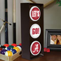 Alabama Crimson Tide NCAA College Stop Light Table Lamp