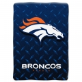 "Denver Broncos NFL ""Diamond Plate"" 60' x 80"" Raschel Throw"