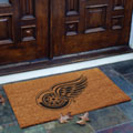 Detroit Redwings NHL Rectangular Outdoor Flocked Door Mat
