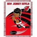 "New Jersey Devils NHL Baby 36"" x 46"" Triple Woven Jacquard Throw"