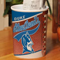 Duke Blue Devils NCAA College Office Waste Basket
