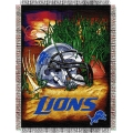 "Detroit Lions NFL ""Home Field Advantage"" 48"" x 60"" Tapestry Throw"