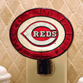 Cincinnati Reds MLB Art Glass Nightlight
