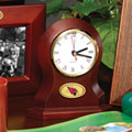 Arizona Cardinals NFL Brown Desk Clock