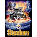 "Pittsburgh Steelers NFL ""Home Field Advantage"" 48"" x 60"" Tapestry Throw"
