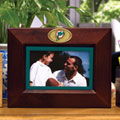 "Miami Dolphins NFL 8"" x 10"" Brown Horizontal Picture Frame"