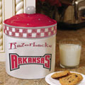 Arkansas Razorbacks NCAA College Gameday Ceramic Cookie Jar