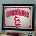 St. Louis Cardinals MLB Framed Glass Mirror