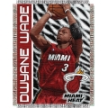 "Dwyane Wade NBA ""Players"" 48"" x 60"" Tapestry Throw"