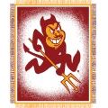 "Arizona State Sun Devils NCAA College ""Focus"" 48"" x 60"" Triple Woven Jacquard Throw"