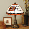 Oklahoma State Cowboys NCAA College Stained Glass Tiffany Table Lamp