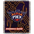 "Phoenix Suns NBA 48"" x 60"" Triple Woven Jacquard Throw"