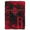 "Houston Rockets NBA ""Tie Dye"" 60"" x 80"" Super Plush Throw"