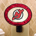 New Jersey Devils NHL Art Glass Nightlight