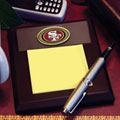 San Francisco 49ers NFL Memo Pad Holder