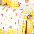 Flowerland Queen Sheets Set