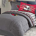 Arizona Cardinals NFL Team Denim Queen Comforter / Sheet Set