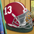 Alabama Crimson Tide NCAA College Helmet Bank