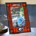 "Georgia UGA Bulldogs NCAA College 9"" x 6.5"" Vertical Art-Glass Frame"