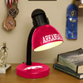 Arkansas Razorbacks NCAA College Desk Lamp