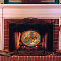 Oklahoma State Cowboys NCAA College Stained Glass Fireplace Screen