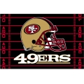 "San Francisco 49ers NFL 39"" x 59"" Tufted Rug"