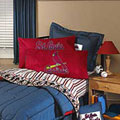 St. Louis Cardinals Team Denim Toss Pillow
