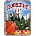 "Indiana Hoosiers NCAA College ""Home Field Advantage"" 48""x 60"" Tapestry Throw"