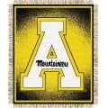 "Appalachian State Mountaineers NCAA College ""Focus"" 48"" x 60"" Triple Woven Jacquard Throw"