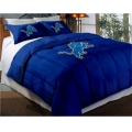 "Detroit Lions NFL Twin Chenille Embroidered Comforter Set with 2 Shams 64"" x 86"""