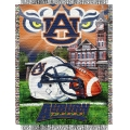"Auburn Tigers NCAA College ""Home Field Advantage"" 48""x 60"" Tapestry Throw"